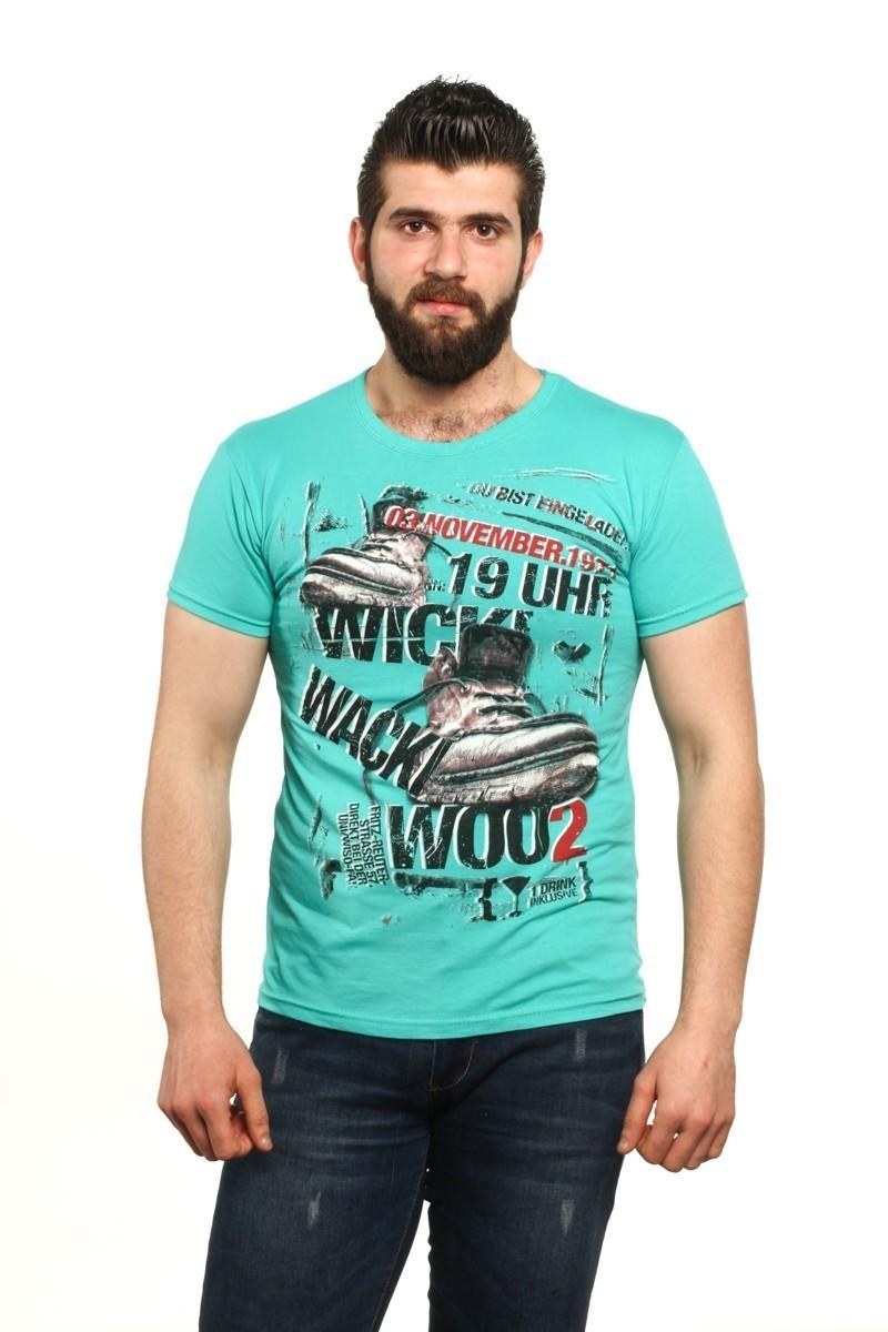 MTT Turkuaz MTT-519 Erkek Tişört