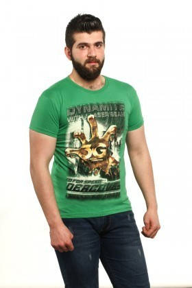 MTT Yeşil MTT-511 Erkek Tişört