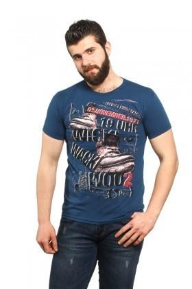 MTT Lacivert MTT-509 Erkek Tişört