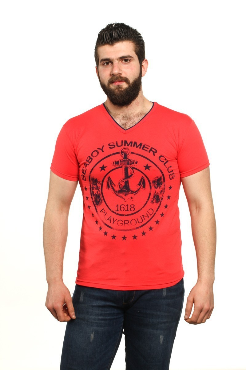 MTT Nar Çiçeği MTT-501 Erkek Tişört