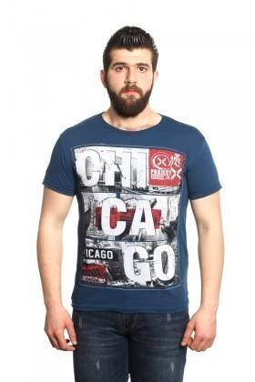 MTT Lacivert MTT-05 Erkek Tişört