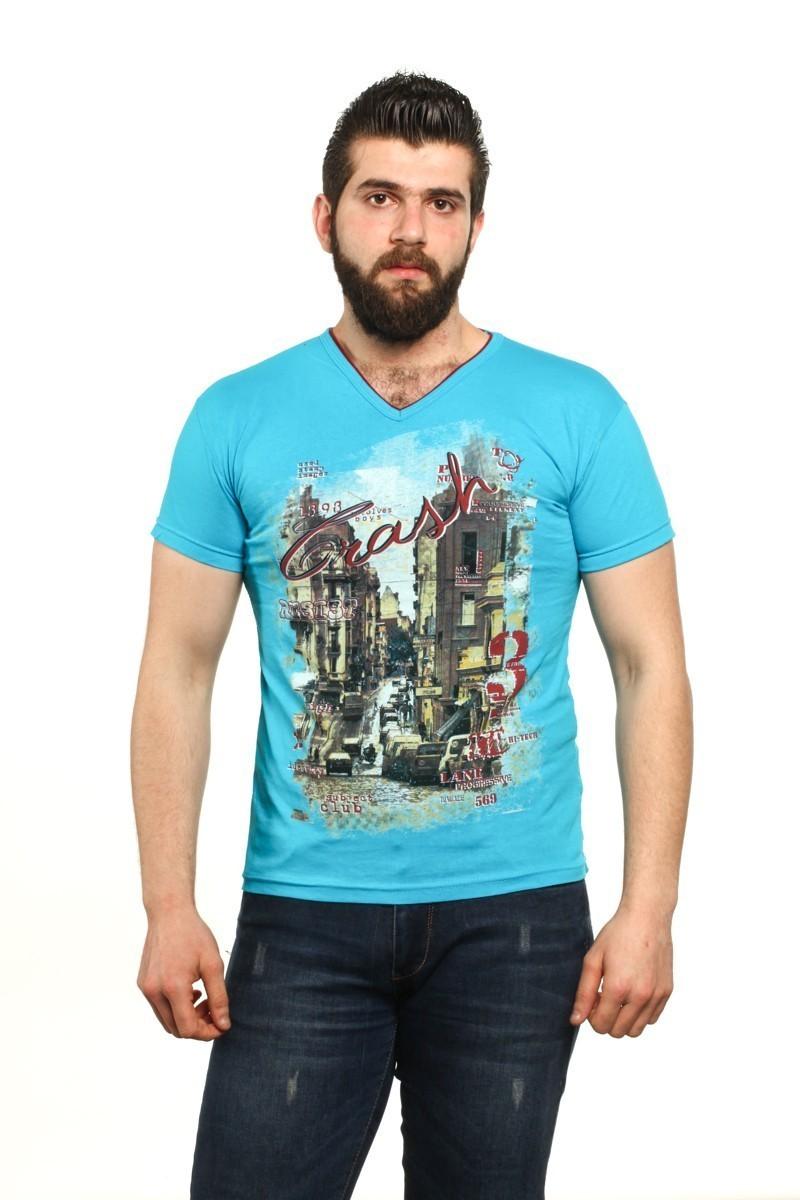 MTT Turkuaz MTT-91 Erkek Tişört