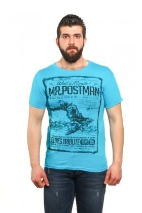 MTT Turkuaz MTT-13 Erkek Tişört