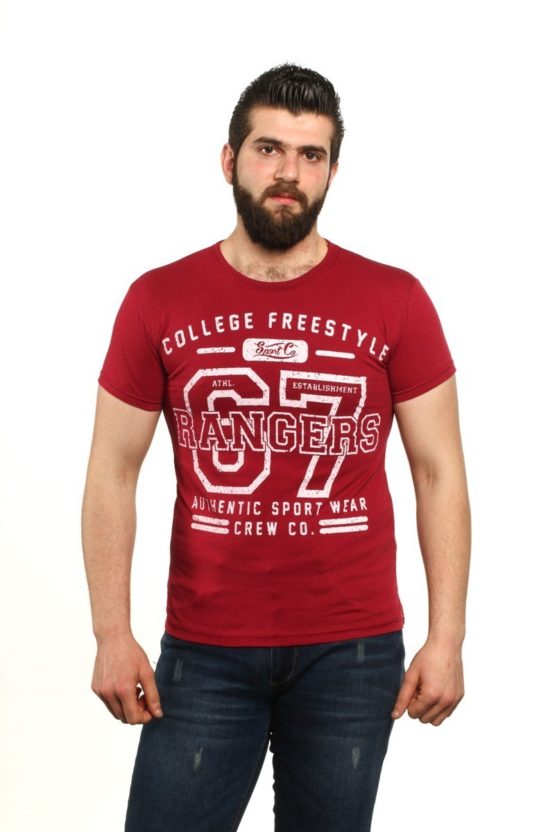 MTT Kırmızı MTT-88 Erkek Tişört