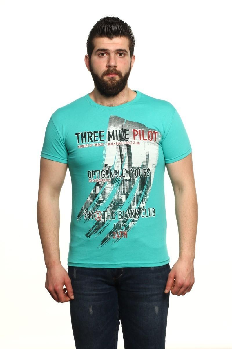 MTT Turkuaz MTT-18 Erkek Tişört
