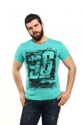 MTT Turkuaz MTT-85 Erkek Tişört