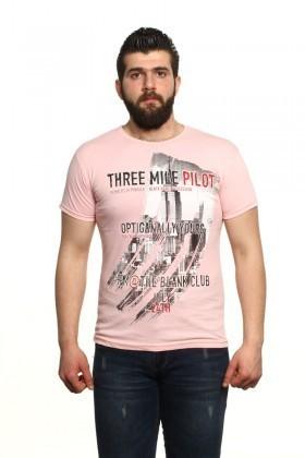 MTT Açık Pembe MTT-20 Erkek Tişört