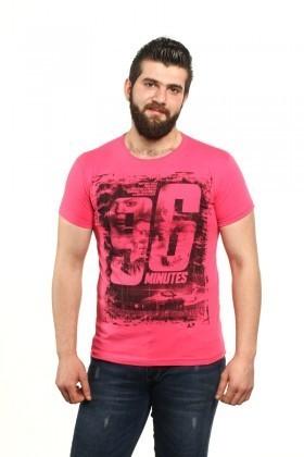 MTT Pembe MTT-83 Erkek Tişört