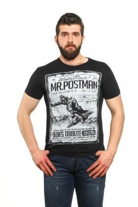 MTT Siyah MTT-30 Erkek Tişört