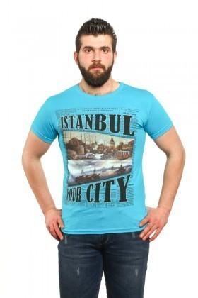 MTT Turkuaz MTT-35 Erkek Tişört