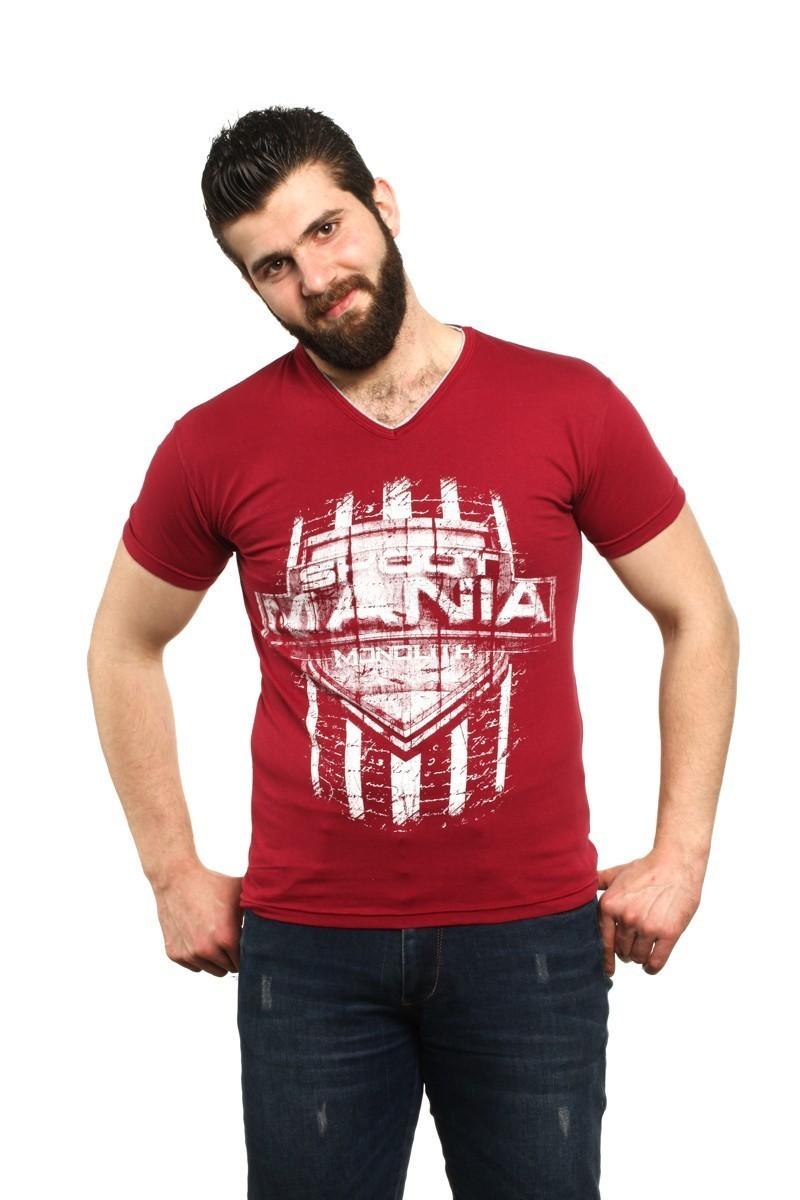 MTT Kırmızı MTT-68 Erkek Tişört