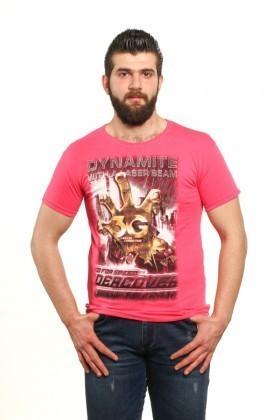 MTT Pembe MTT-41 Erkek Tişört