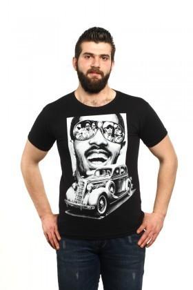 MTT Siyah MTT-42 Erkek Tişört