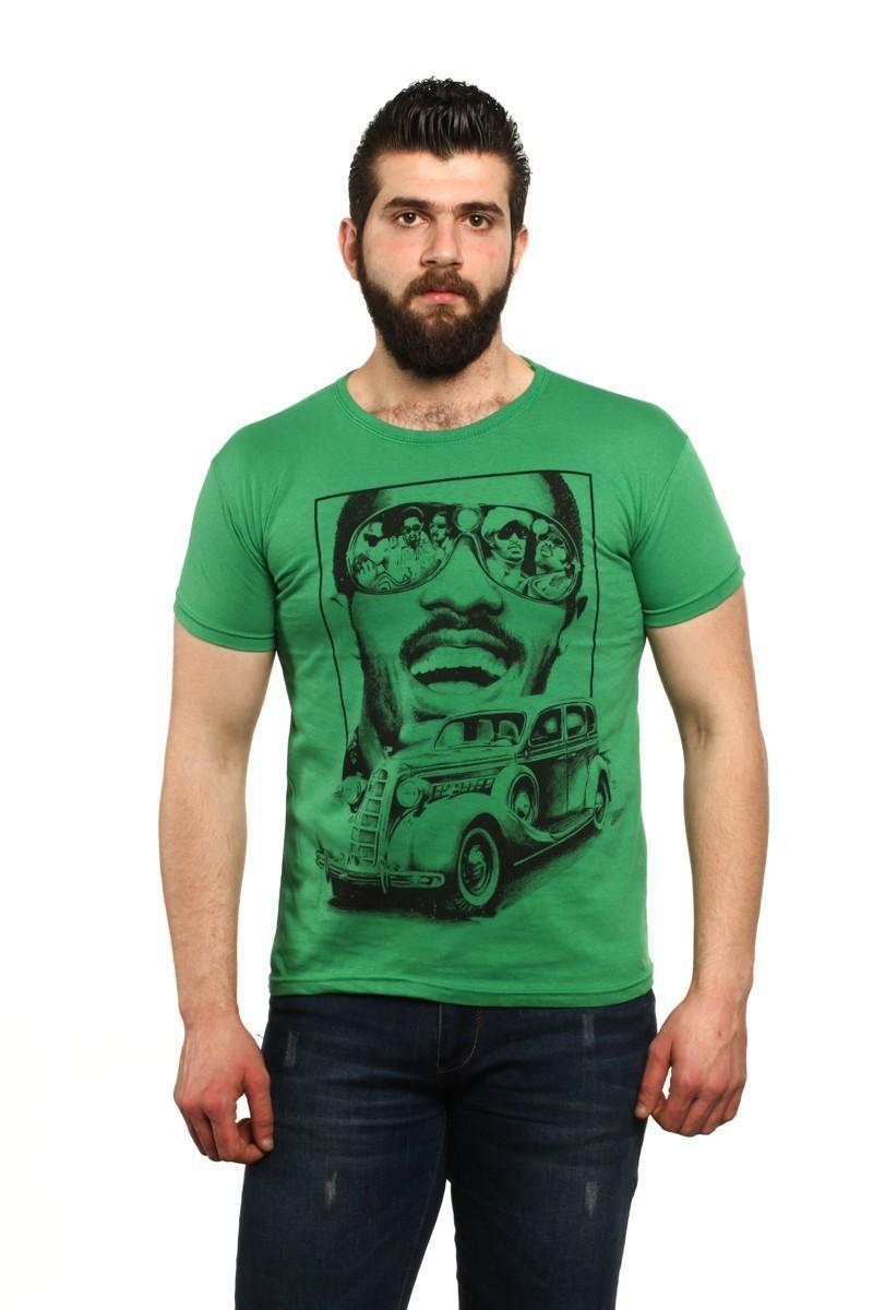 MTT Yeşil MTT-43 Erkek Tişört