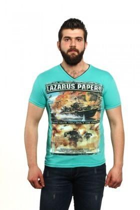 MTT Turkuaz MTT-44 Erkek Tişört