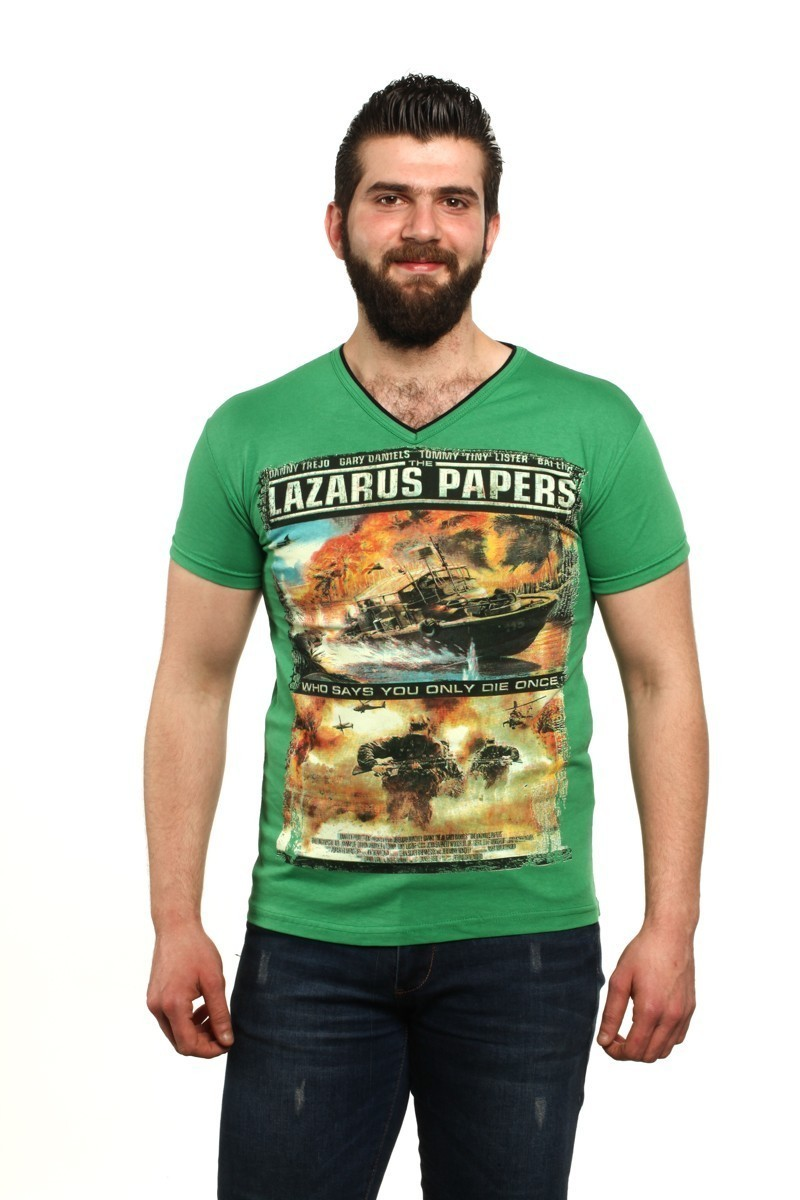 MTT Yeşil MTT-45 Erkek Tişört