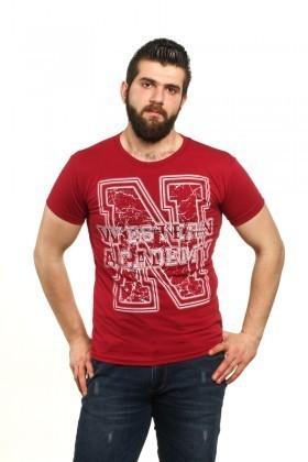 MTT Kırmızı MTT-63 Erkek Tişört