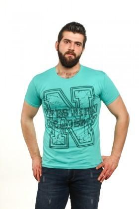 MTT Turkuaz MTT-61 Erkek Tişört