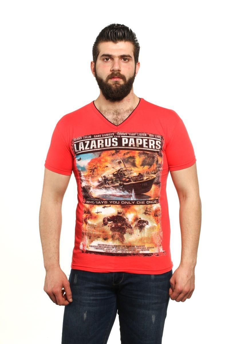 MTT Karışık Renkli MTT-47 Erkek Tişört