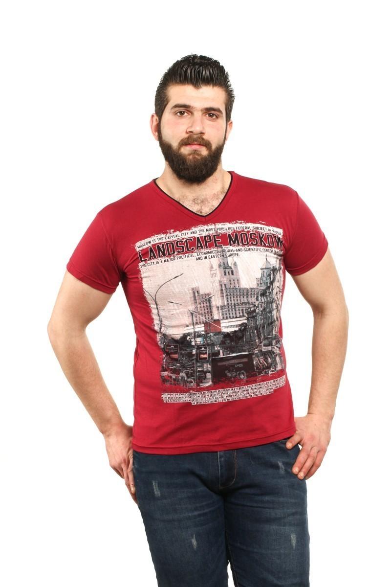 MTT Bordo MTT-59 Erkek Tişört