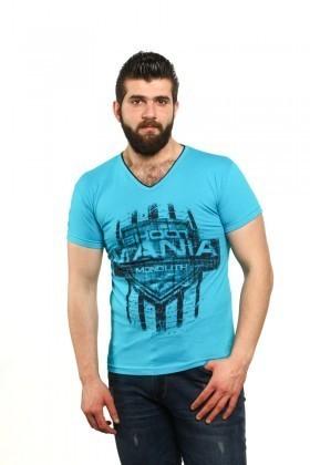MTT Turkuaz MTT-52 Erkek Tişört