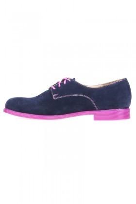 Caprito Lacivert CPR-120-SUET Bayan Ayakkabı