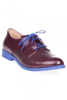 Twicc Bordo TW-3737 Bayan Ayakkabı
