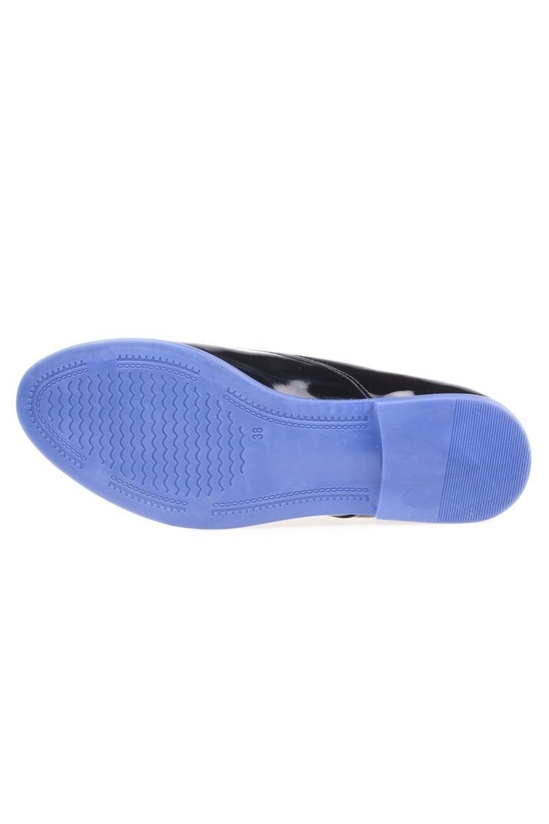 Caprito Siyah-Mavi CPR-120 Bayan Ayakkabı