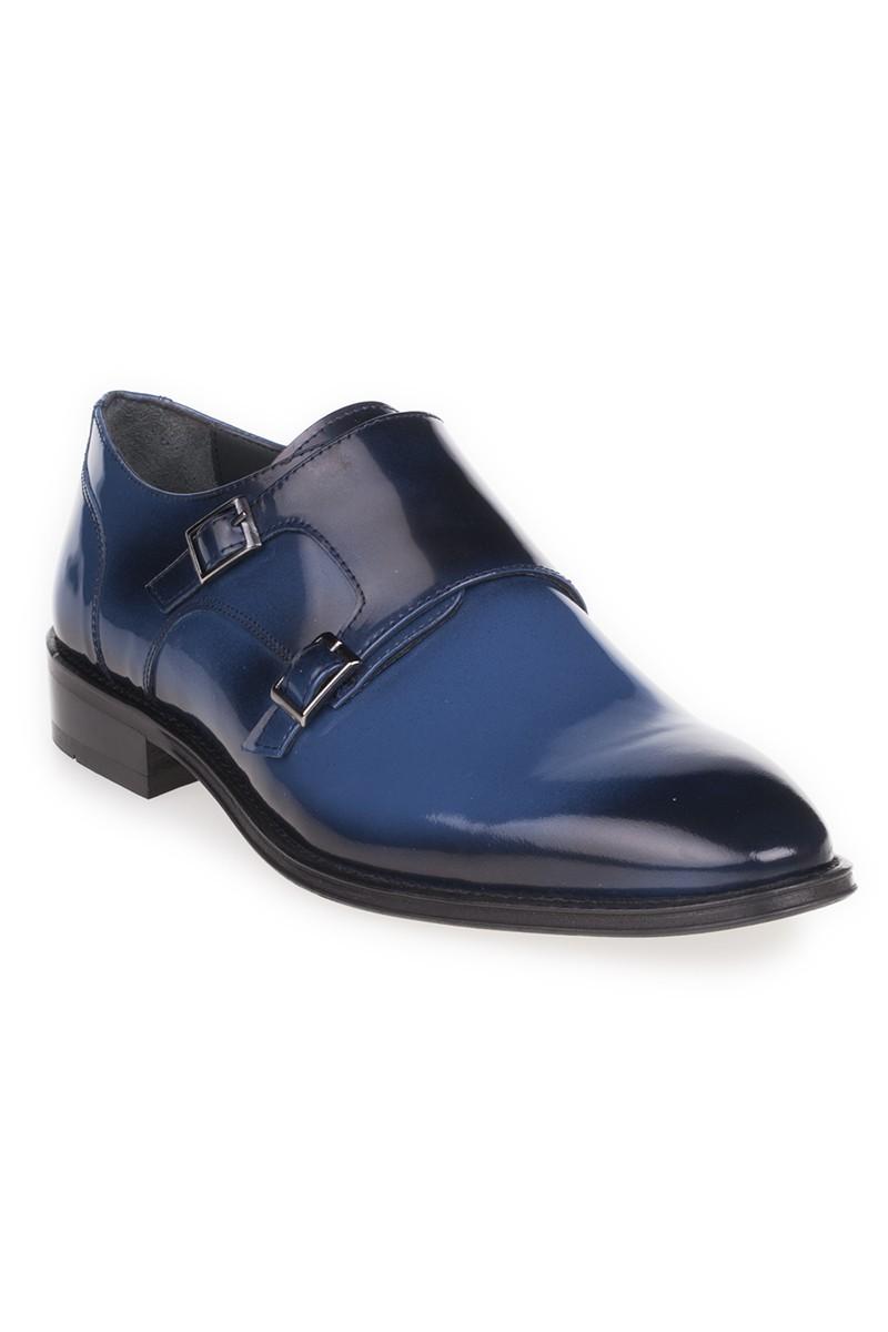 Chaos Lacivert-Mavi TS-2107 Hakiki Deri Erkek Ayakkabı