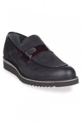 Chaos Siyah TS-699 Hakiki Deri Erkek Ayakkabı