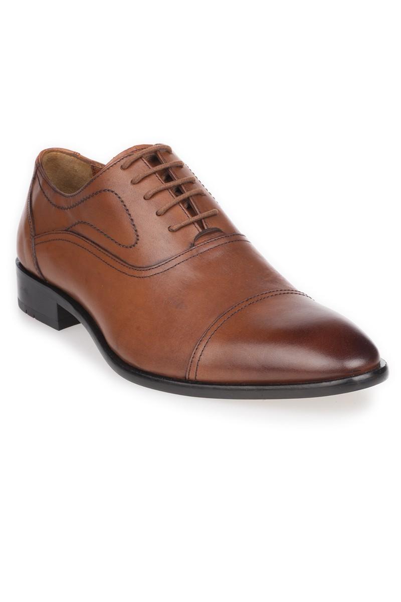 Chaos Taba TS-599 Hakiki Deri Erkek Ayakkabı