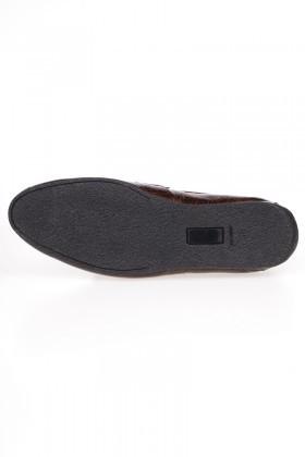 Chaos Taba TS-03 Hakiki Deri Erkek Ayakkabı