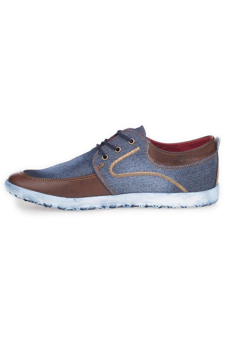 LA POLO Mavi-Kahverengi LPL-353 Erkek ayakkabı
