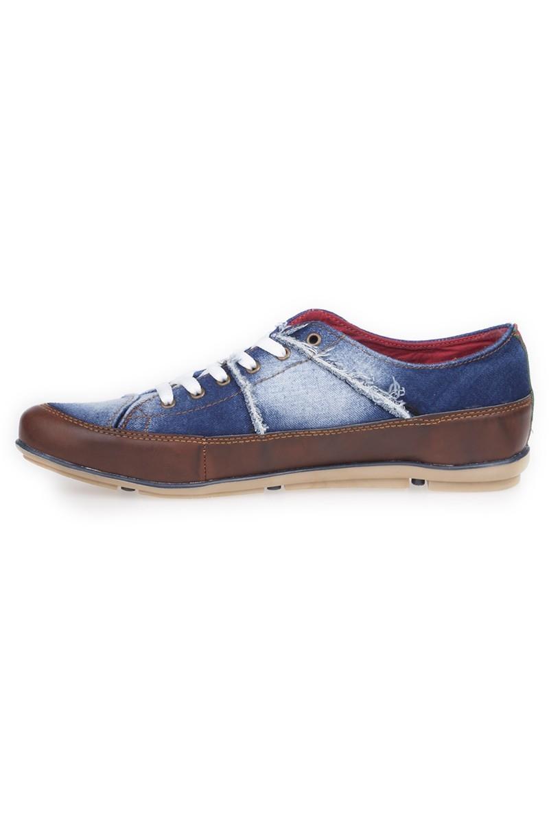 LA POLO Mavi-Kahverengi LPL-215 Erkek ayakkabı