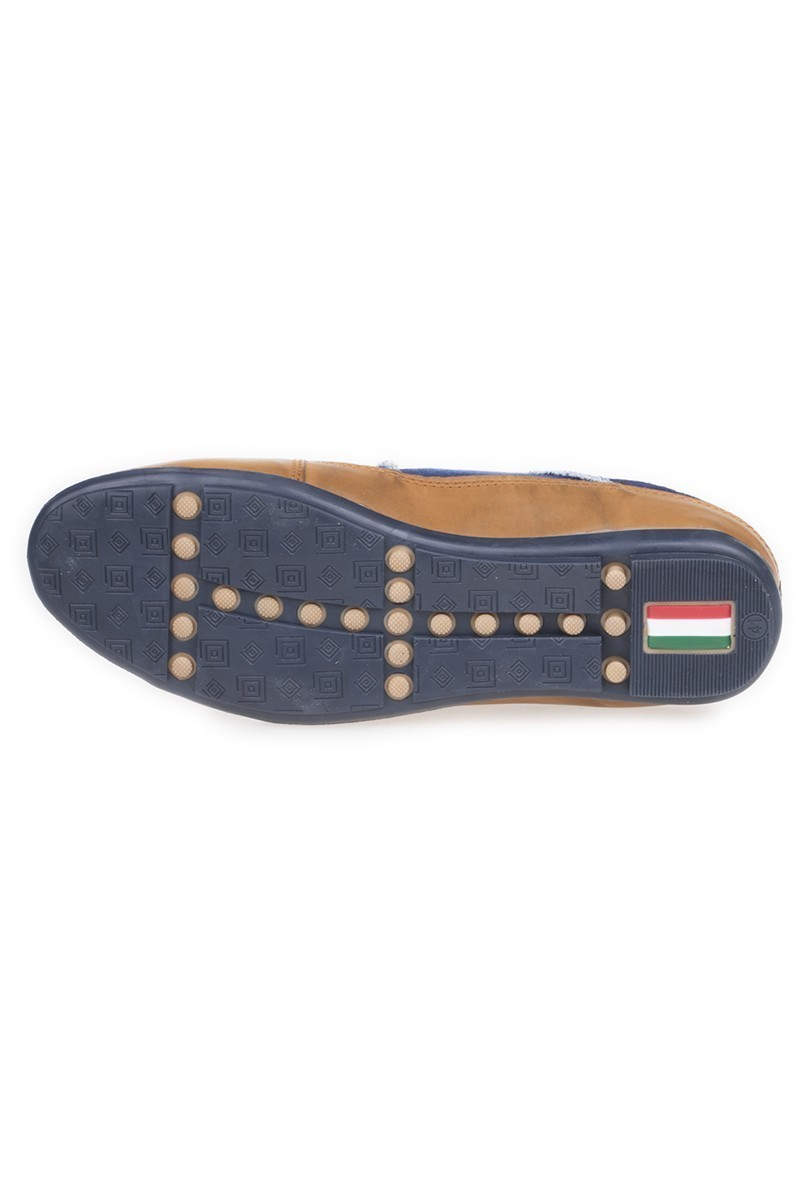 LA POLO Mavi-Taba LPL-200 Erkek ayakkabı