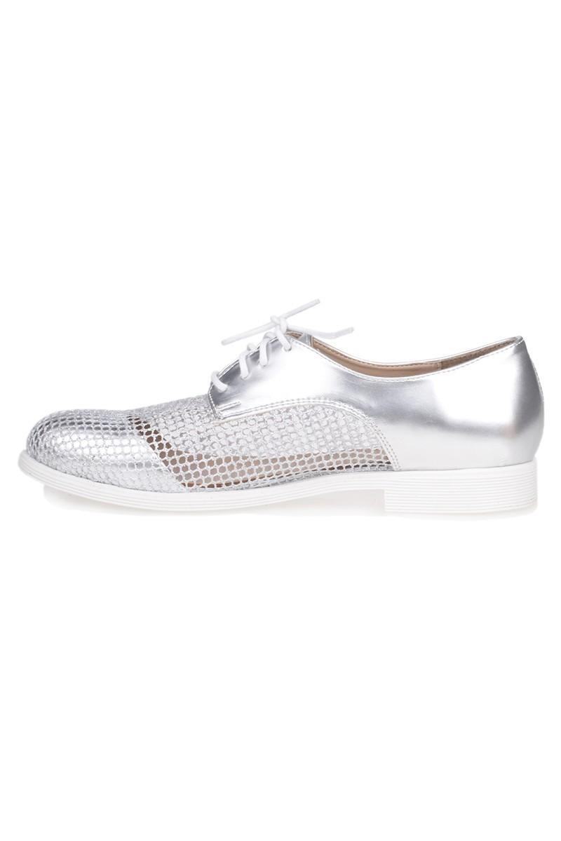 Caprito Gümüş Rengi CPR-121 Bayan Ayakkabı