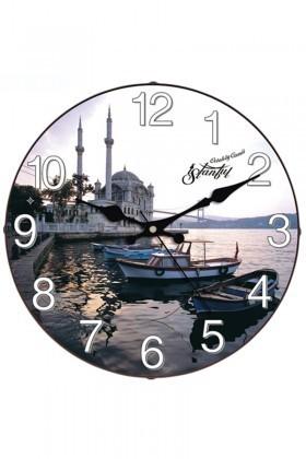 Aypaş Karışık Renkli AP-1968-43 Ortaköy Camii Duvar Saati