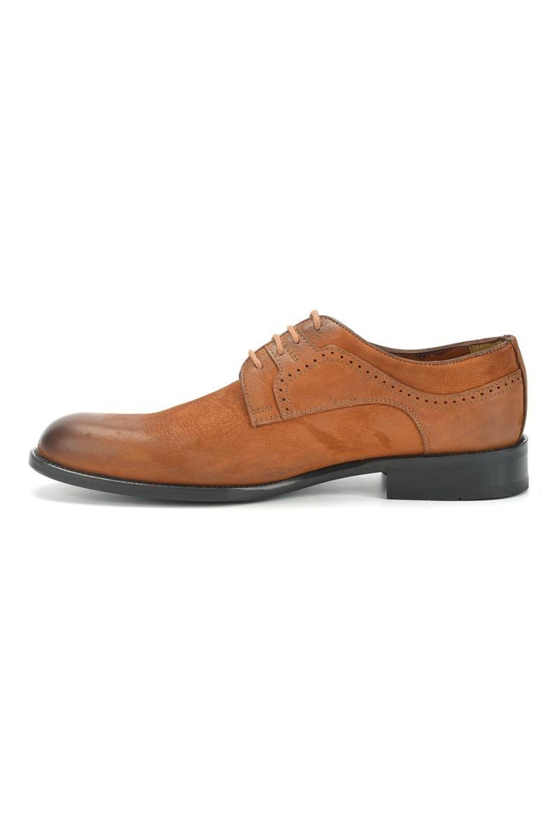 Three Star Taba TS-2500 Hakiki Deri Erkek Klasik Ayakkabı