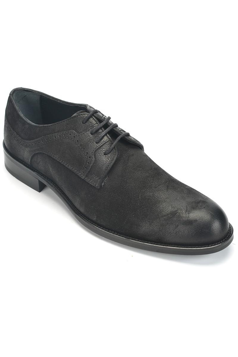 Three Star Siyah TS-2500 Hakiki Deri Erkek Klasik Ayakkabı
