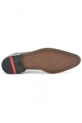 Three Star Siyah TS-05 Hakiki Deri Erkek Klasik Ayakkabı