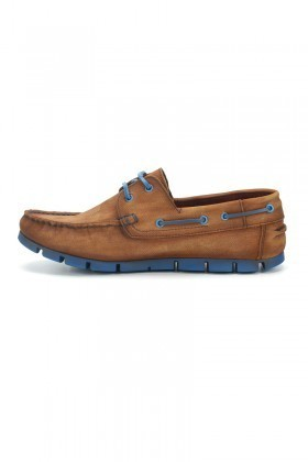Pandew Kahve-Mavi PNDW-799 Hakiki Deri Erkek Ayakkabı