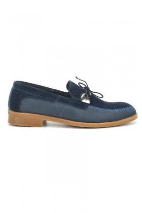 Polomen Lacivert PLM-1070-SUET Erkek Ayakkabı