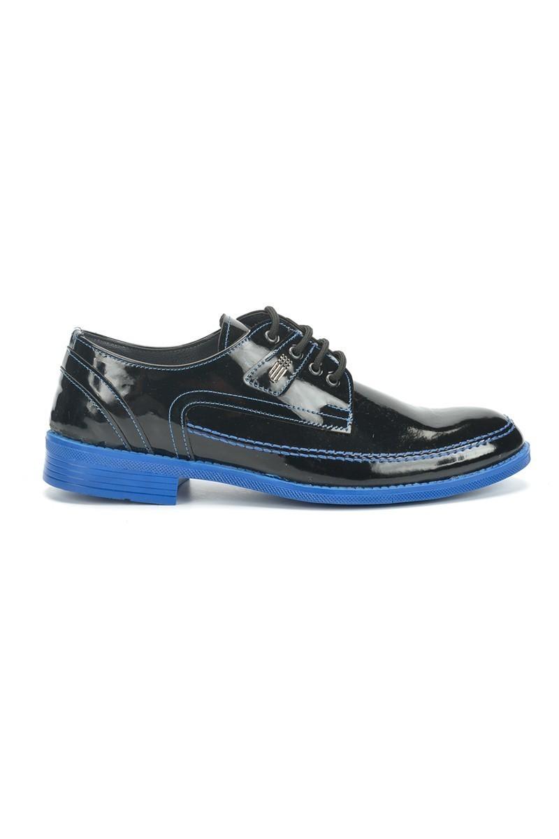 Polomen Siyah-Mavi PLM-1044 Erkek Ayakkabı