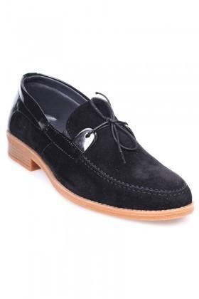 Polomen Siyah PLM-1077-SUET Erkek Ayakkabı