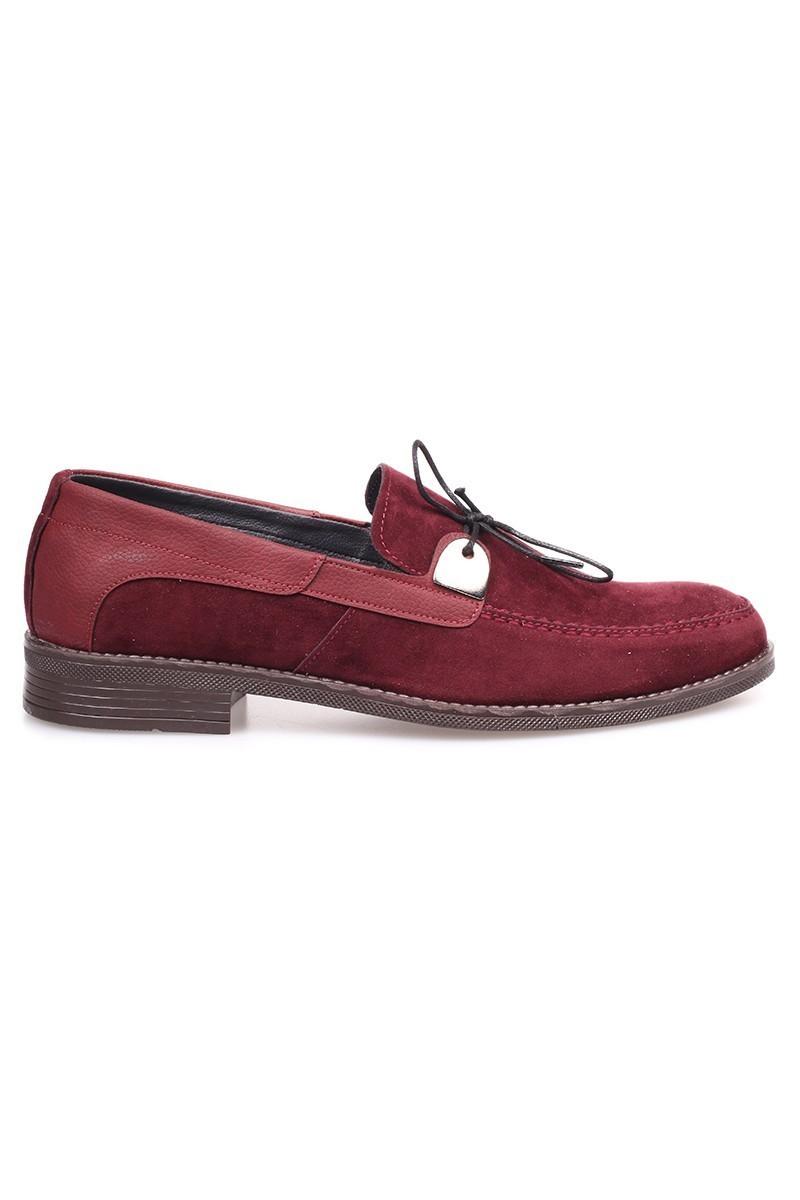 Polomen Bordo PLM-1070-SUET Erkek Ayakkabı