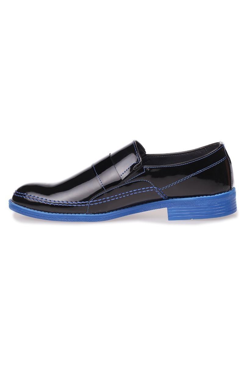 Polomen Siyah-Mavi PLM-1042 Erkek Ayakkabı