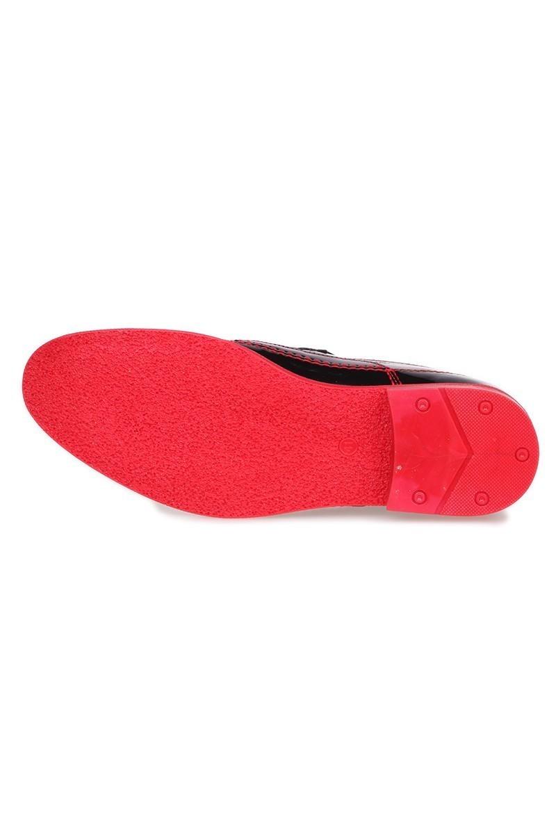 Polomen Siyah-Kırmızı PLM-1042 Erkek Ayakkabı
