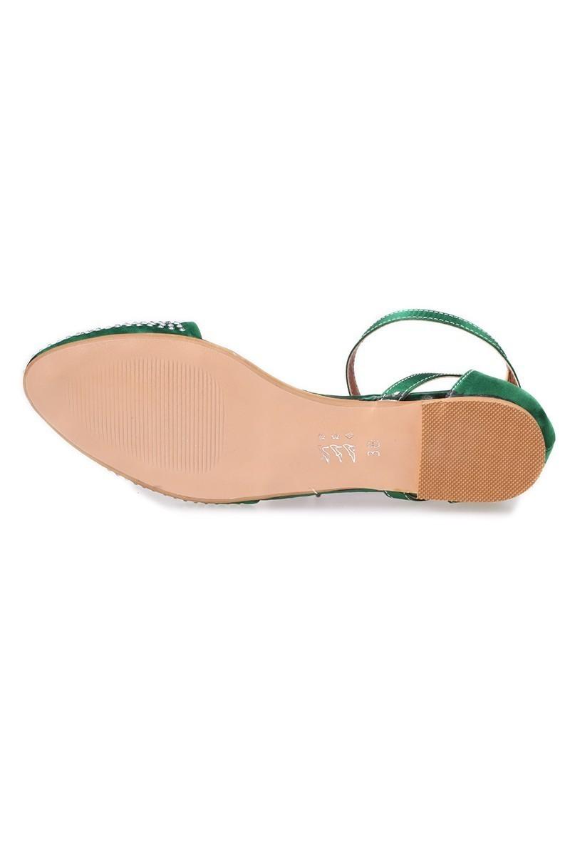Caprito Yeşil CPR-640 Bayan Ayakkabı