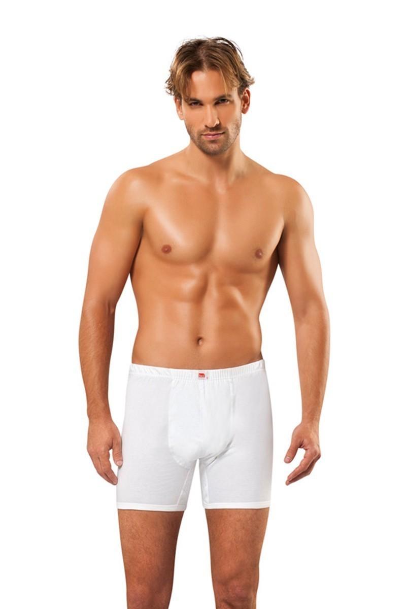Jiber Beyaz JBR-102 Erkek Boxer