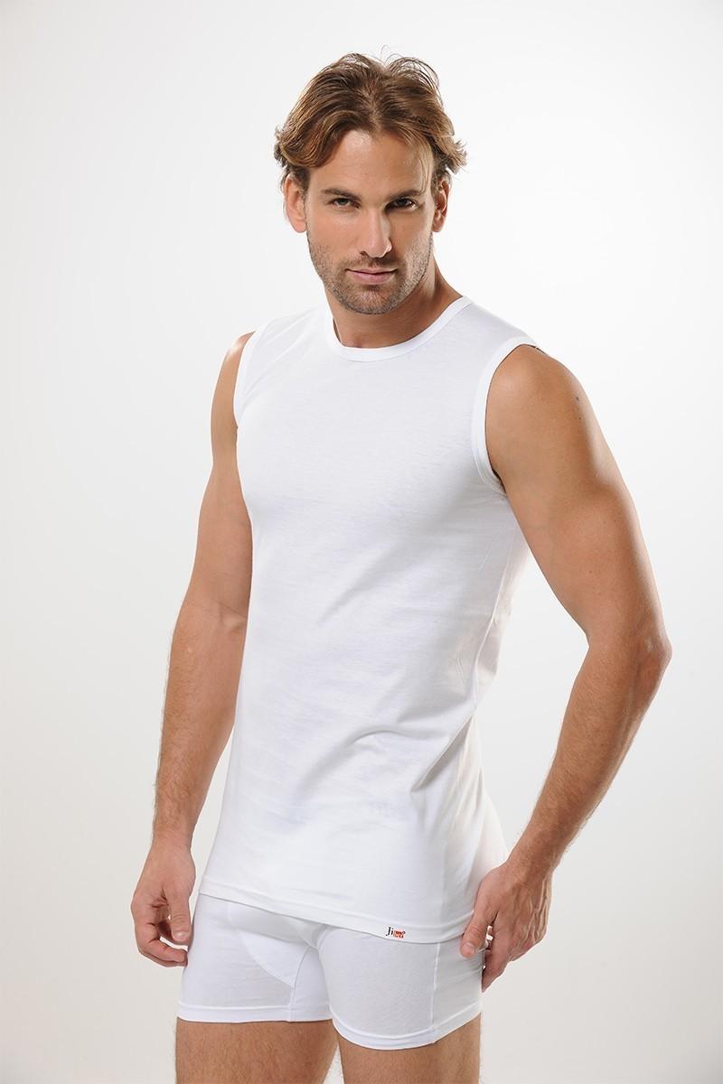 Jiber Beyaz JBR-126 Erkek Atlet
